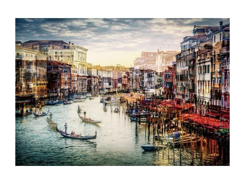 Tablou Sticla Venice, 120 x 80 cm poza