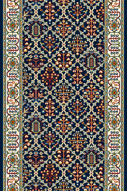 Traversa Tamir Navy Blue, Wilton