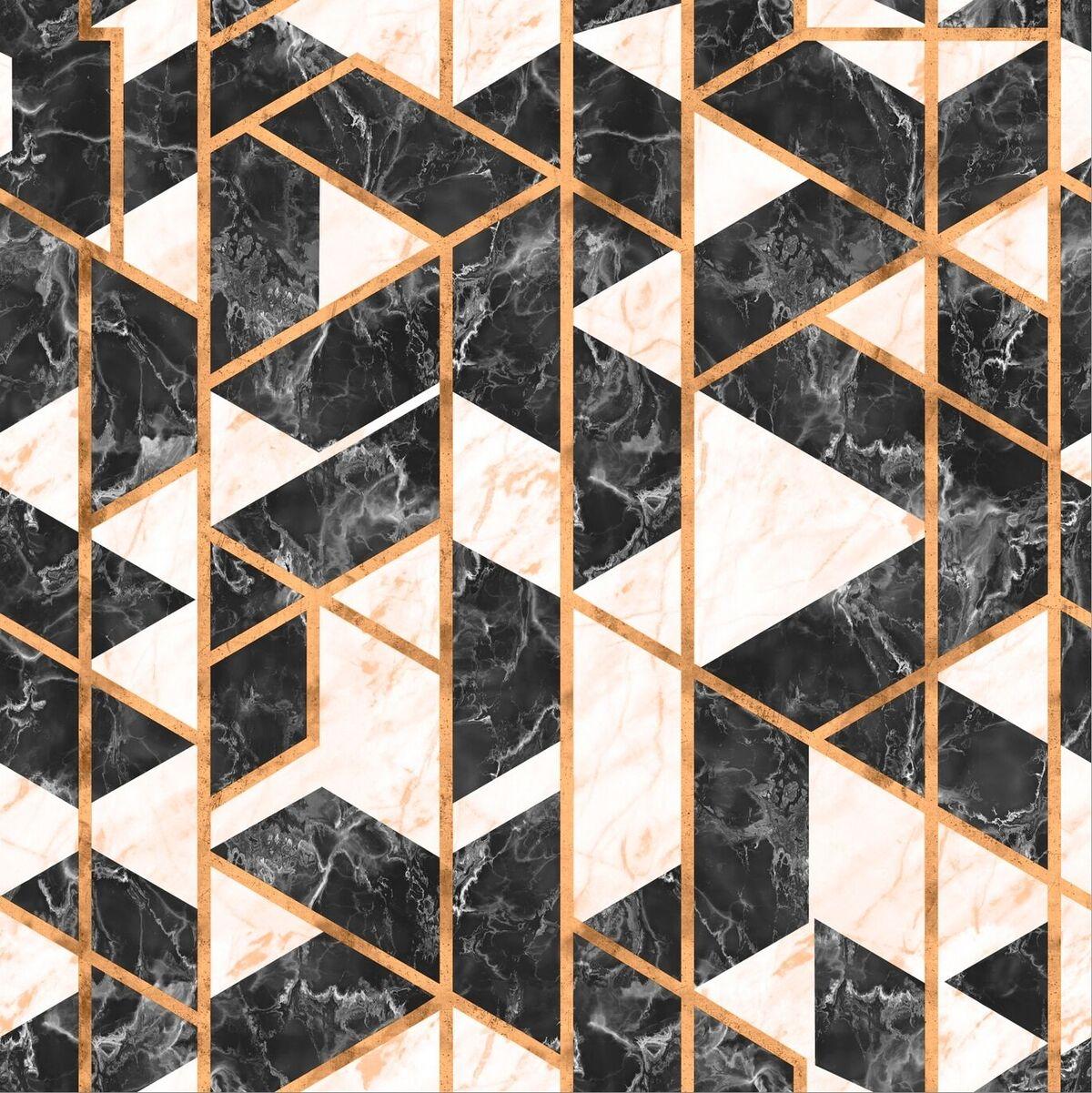 Tapet Imprimat Digital GRAMERCY Onyx