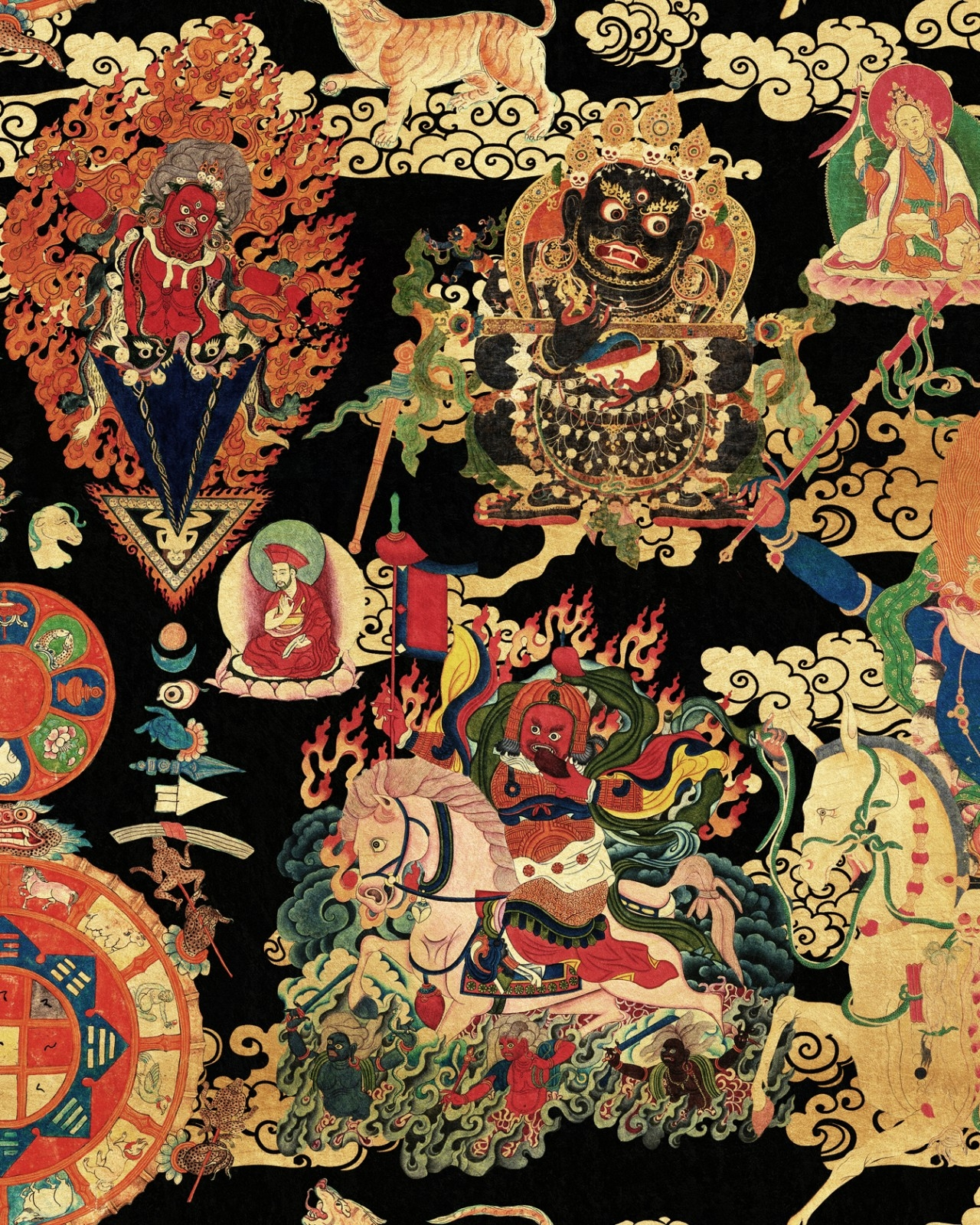 Tapet Imprimat Digital Tibetan Tapestry Metallic Edition