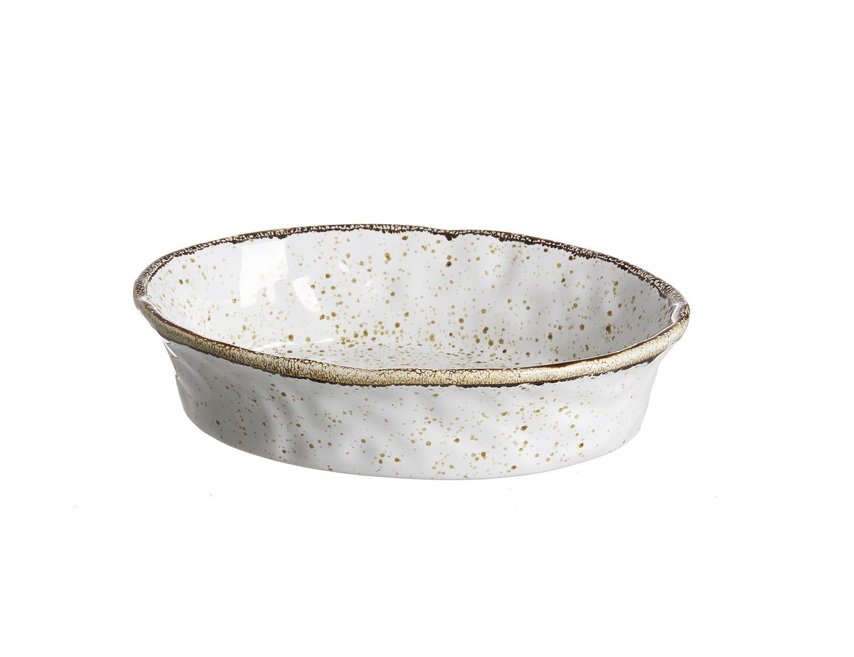 Set tavi ceramice ovale Amentea 25x18 cm 4 piese