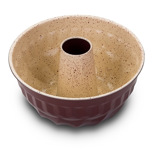 Tava ceramica pentru Bundt Eco Friendly Terrestrial, Ø22xH10 cm imagine 2021