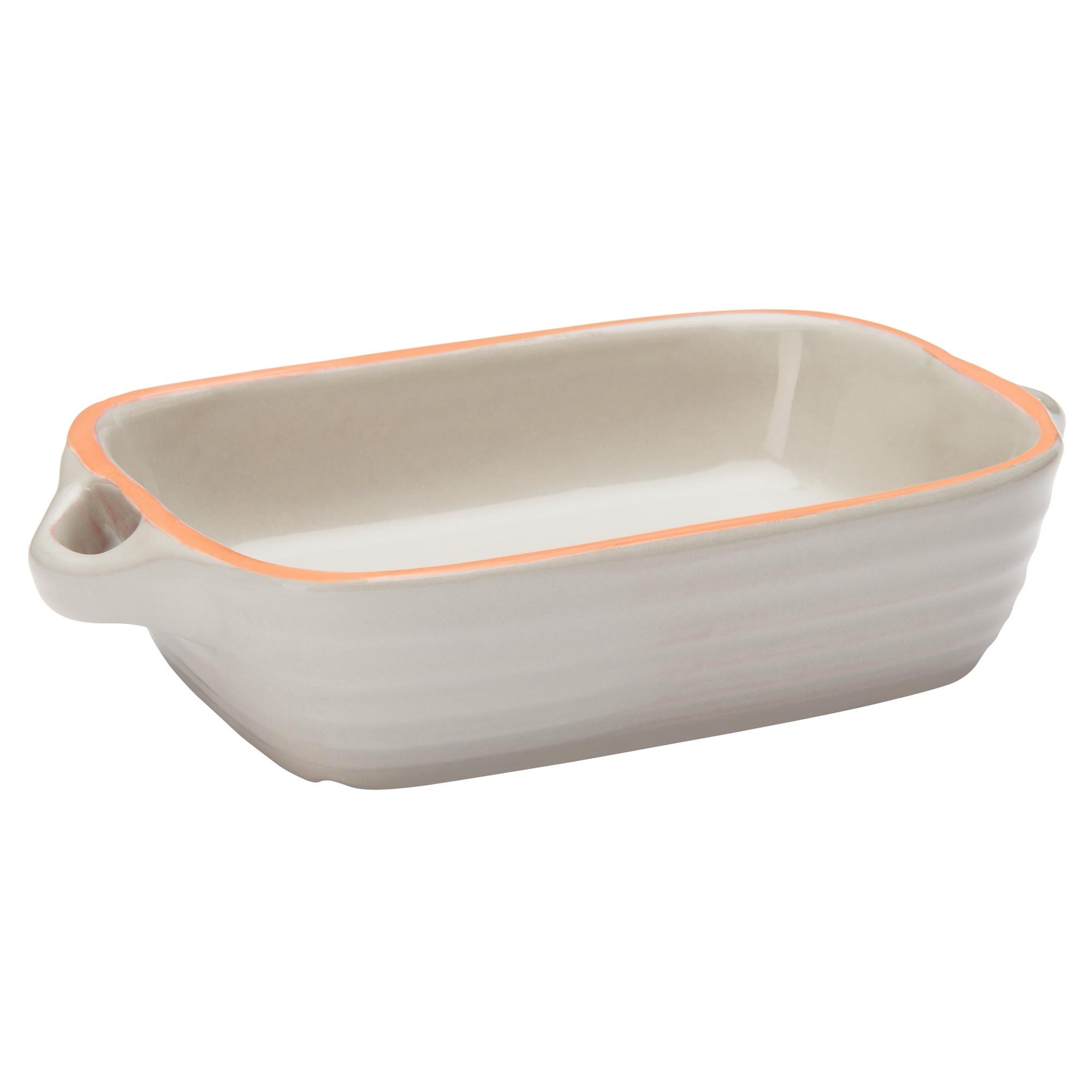 Tava cuptor din ceramica Cool Grey 15 x 11 cm Jamie Oliver