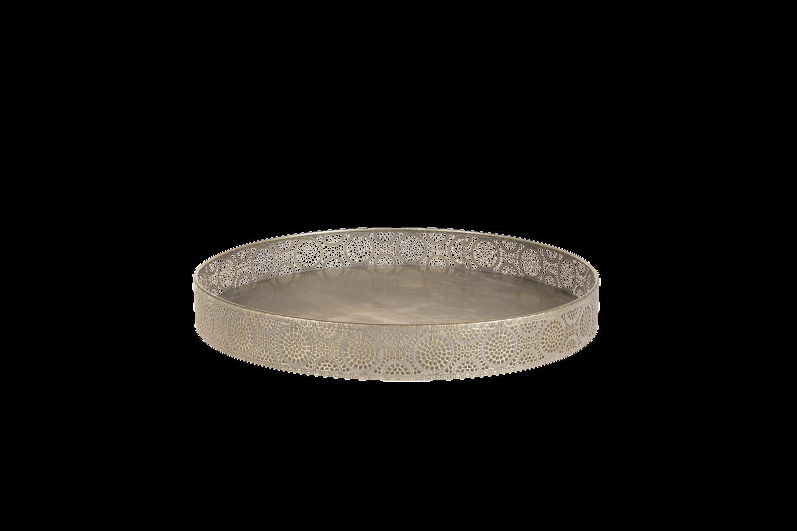Tava metalica Atmosphere Gold Antique O 40 cm