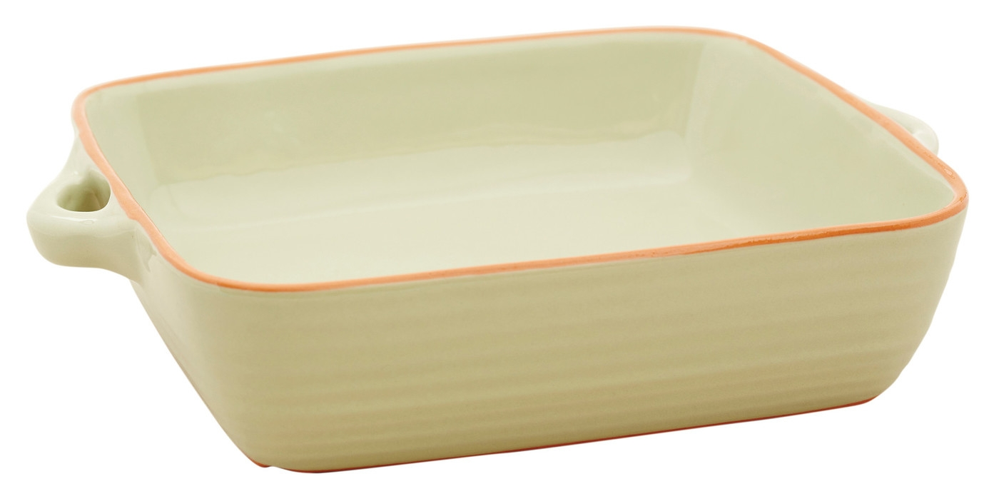 Tava patrata din ceramica Sand, 23 cm, Jamie Oliver