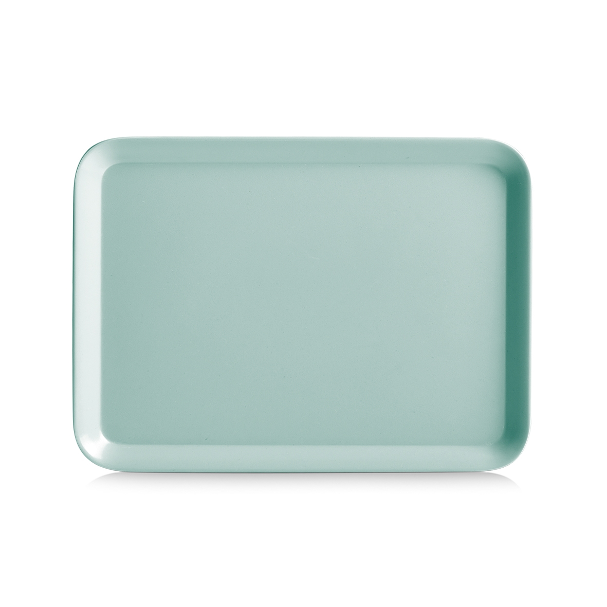Tava pentru servire Aqua II, Melamina, l24xA18 cm-Verde Mint imagine
