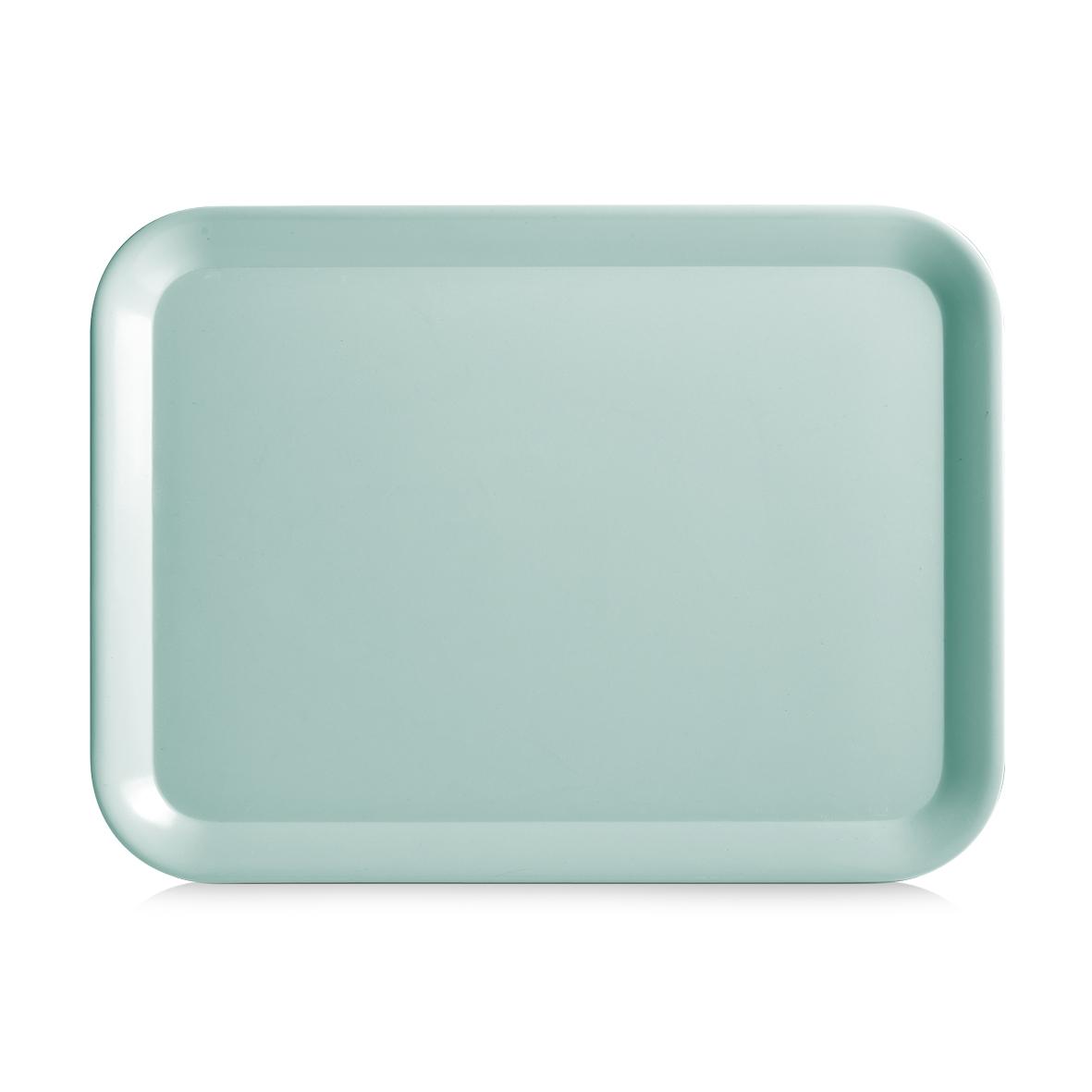 Tava pentru servire Aqua, Melamina, l43,5xA32,5 cm-Verde Mint imagine