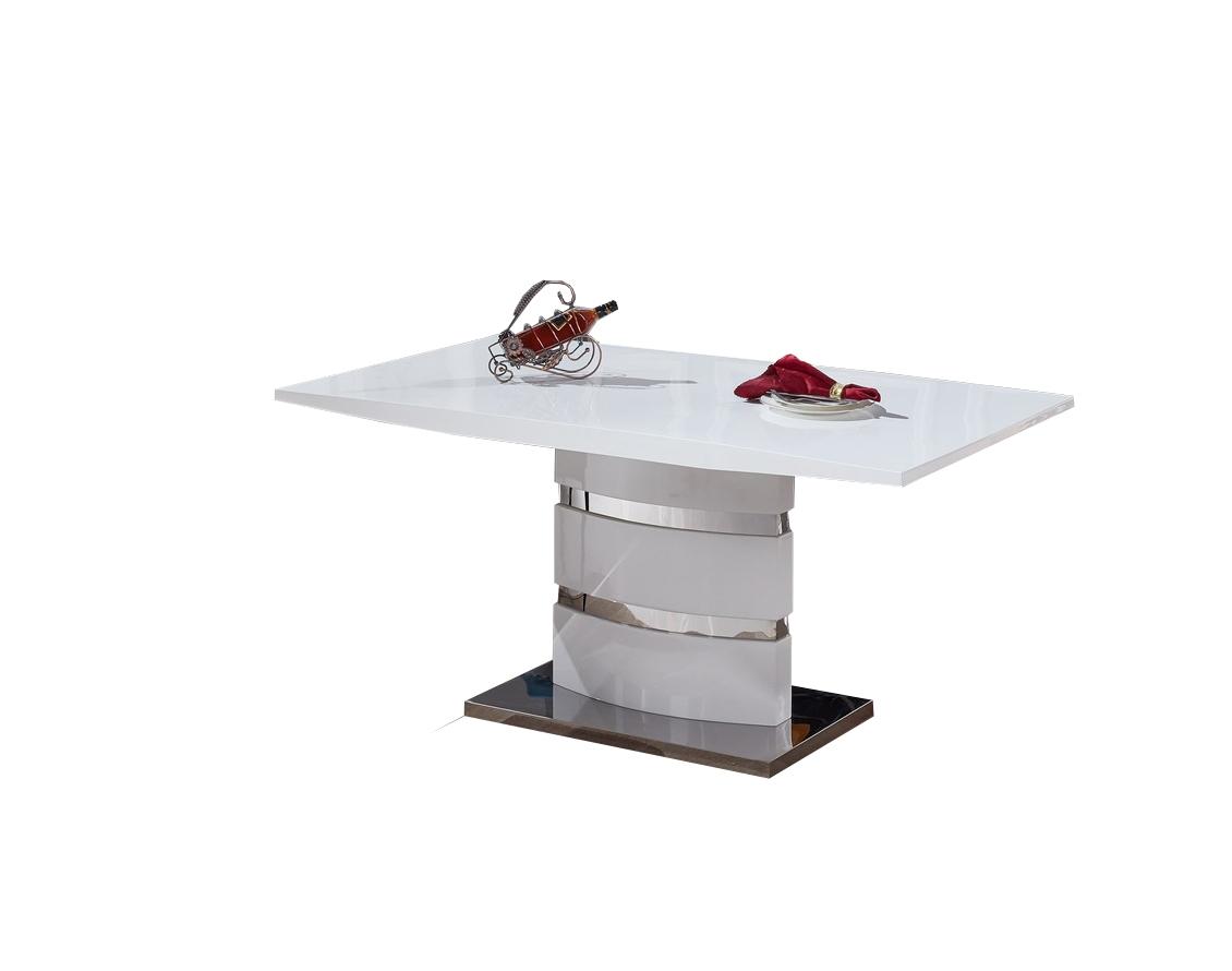 Masa din MDF Stain White L160xl90xh76 cm