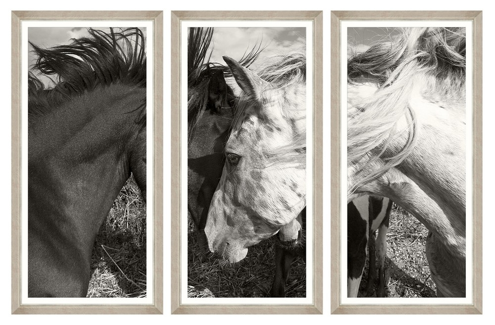 Tablou 3 piese Framed Art Tender Love
