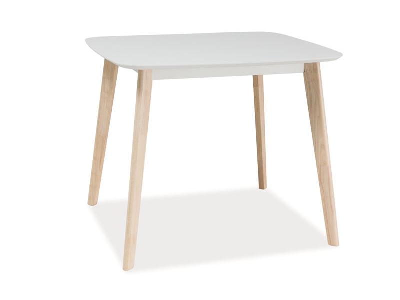 Masa din MDF Tibi White, L90xl80xh75 cm