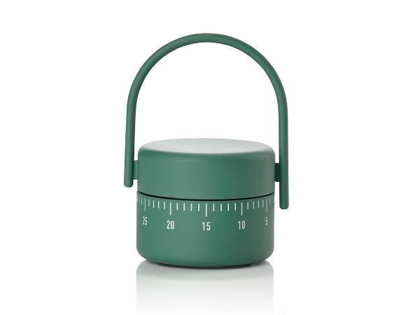 Timer mecanic pentru bucatarie Singles 332018 Verde, Ø5,4xH8,9 cm, Zone Denmark poza