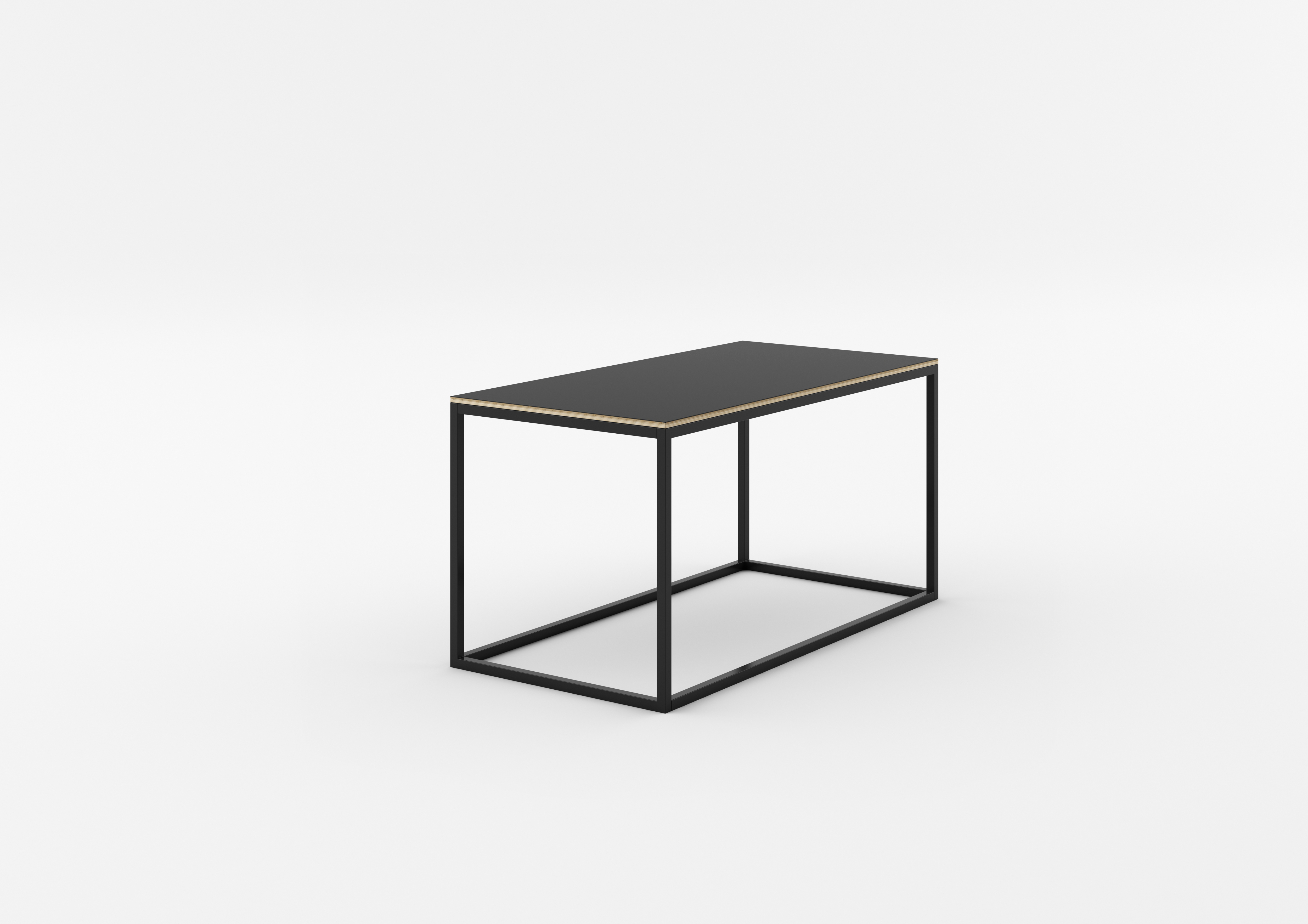 Masa de cafea Callin Black, L100xl50xh52 cm