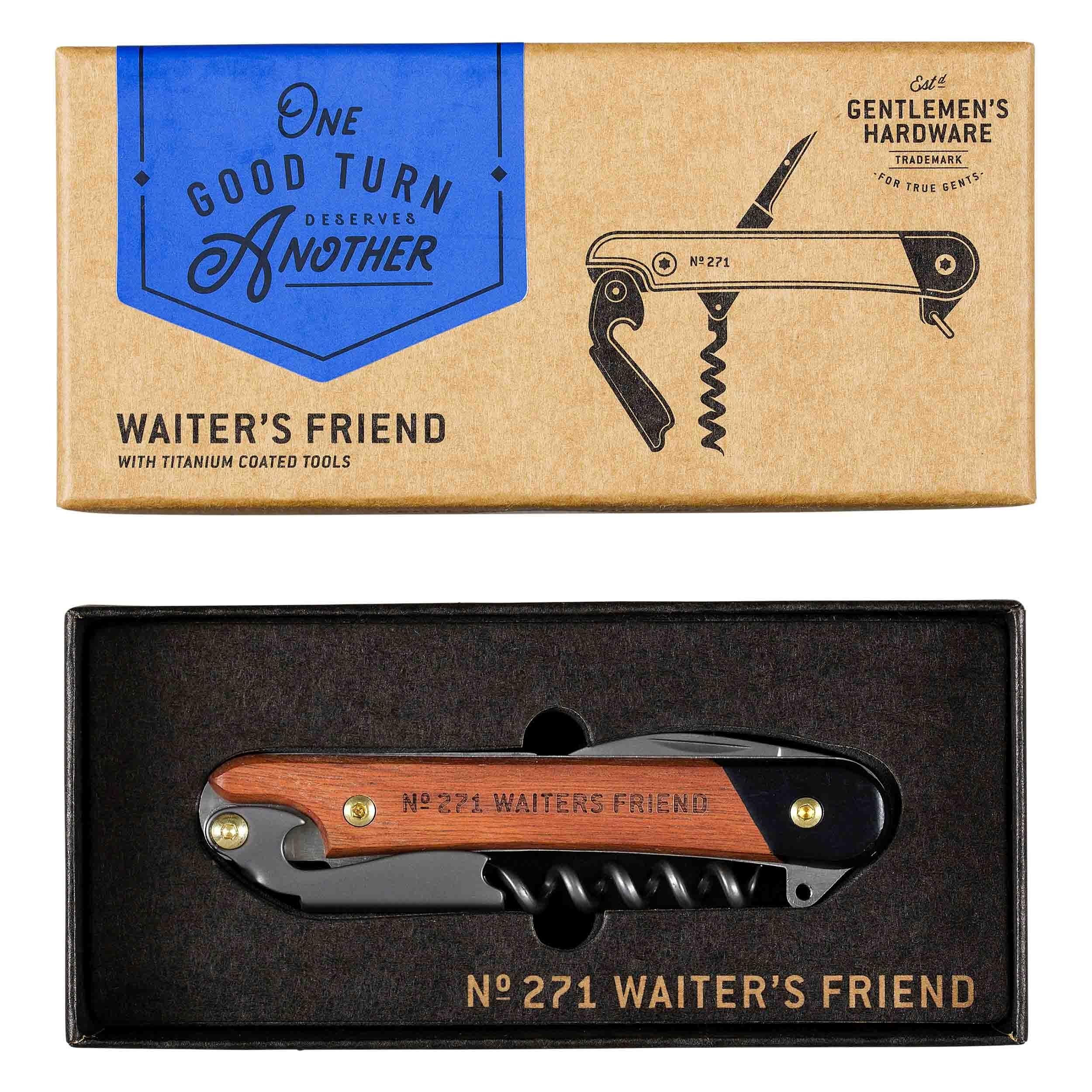 Tirbuson mutifunctional Waiter's Friend GEN271, L10xl2xH1,5 cm, Wild & Wolf