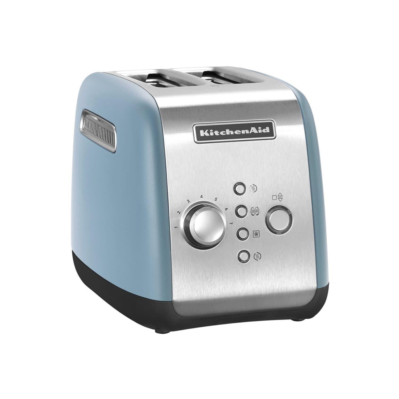 Toaster 2 sloturi, 5KMT221EVB, Blue Velvet, 1100W, KitchenAid somproduct.ro