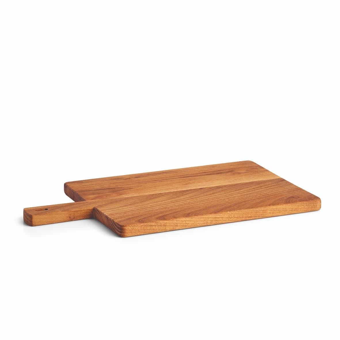 Tocator din lemn, Handle Large Natural, L43xl24xH1,8 cm imagine