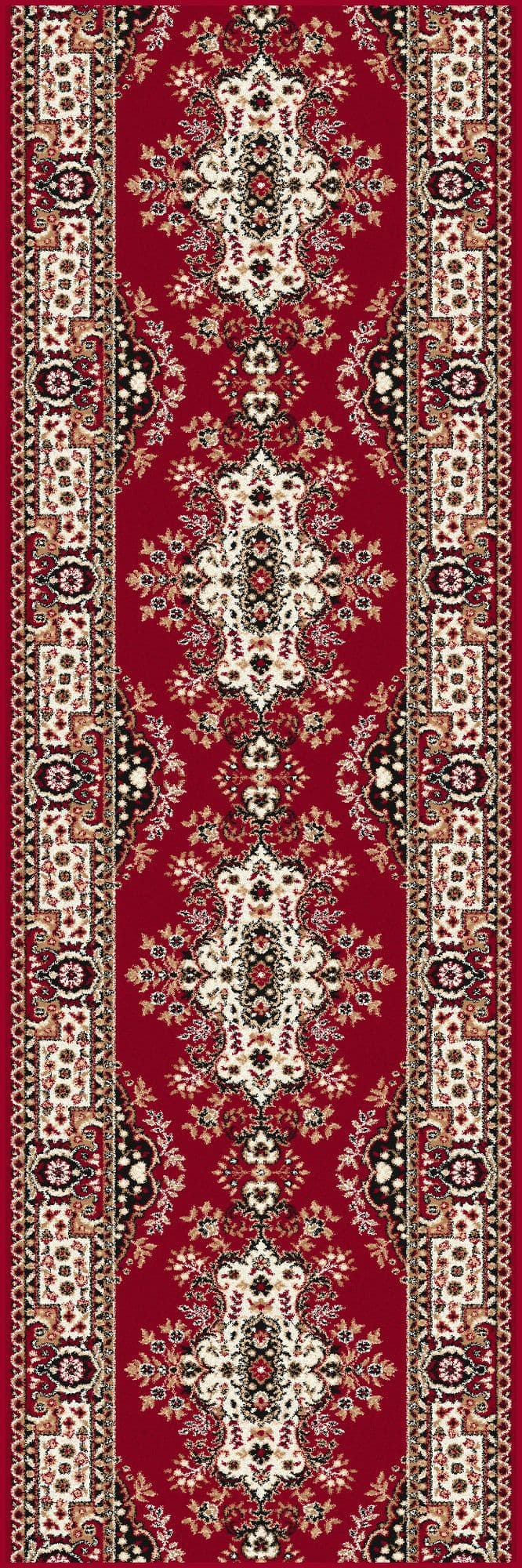Traversa Fatima Dark Red, Wilton imagine