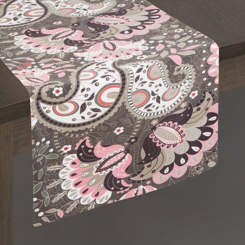 Traversa masa Alvina Velvet Multicolor, 35 x 140 cm