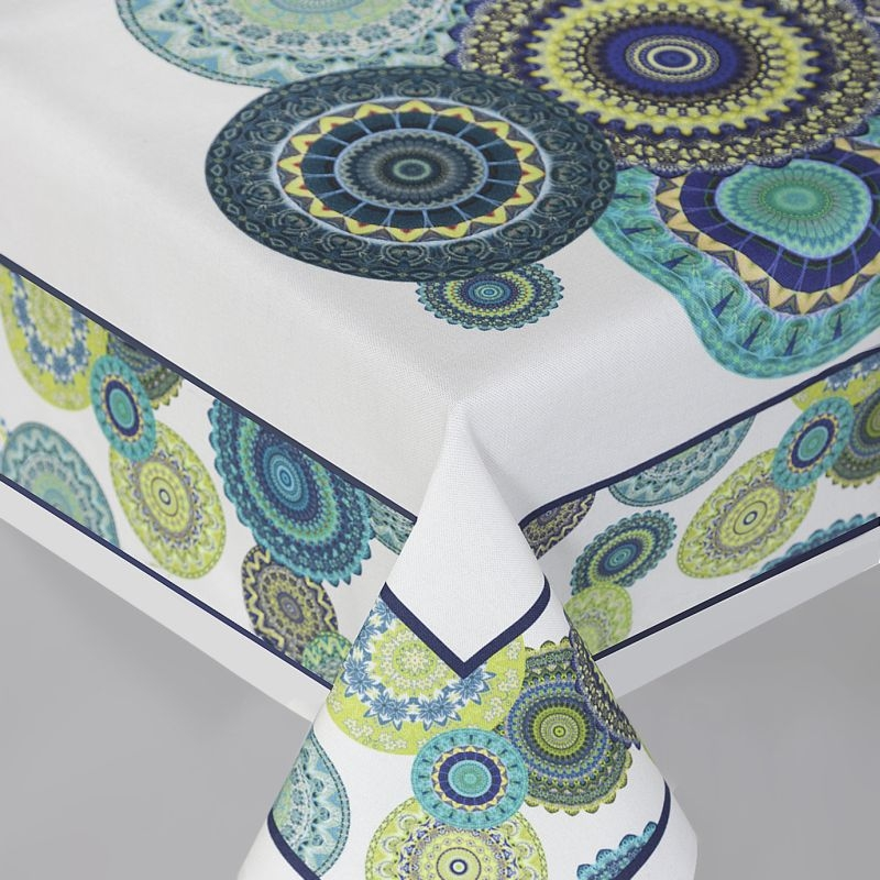 Traversa masa din bumbac, Malmo Multicolor, 40 x 140 cm