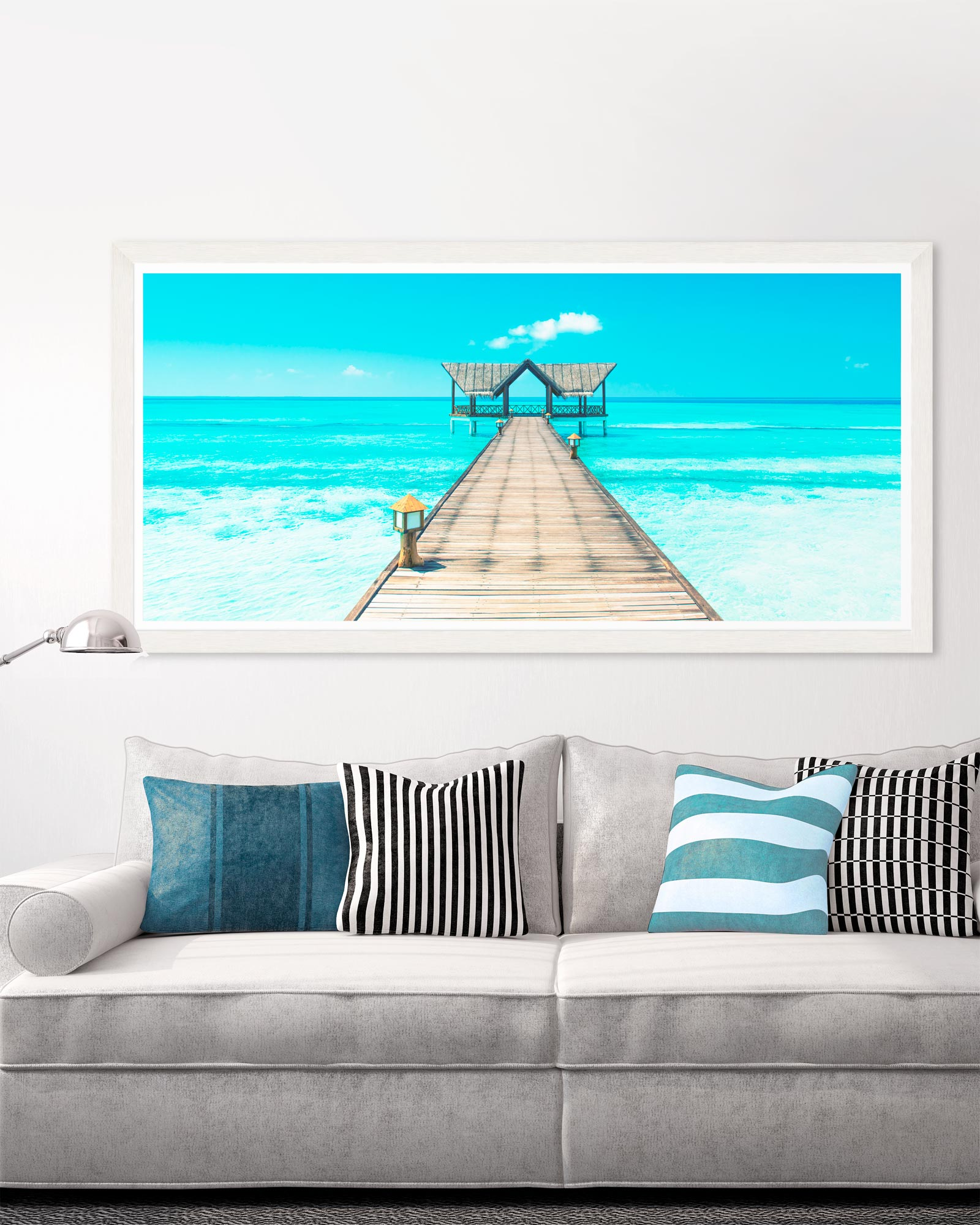 Tablou Framed Art Tropical Seascape
