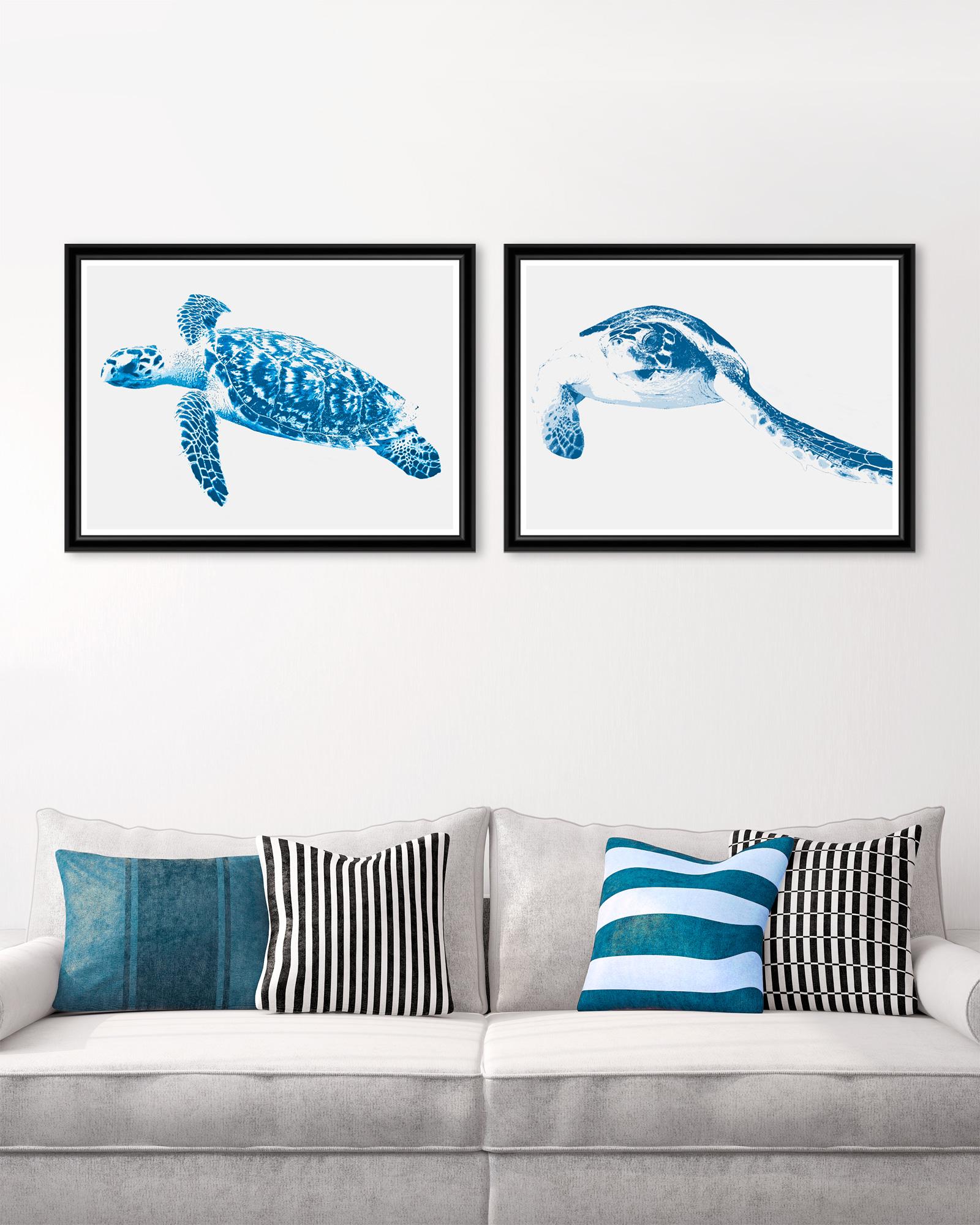 Tablou 2 piese Framed Art Turtles