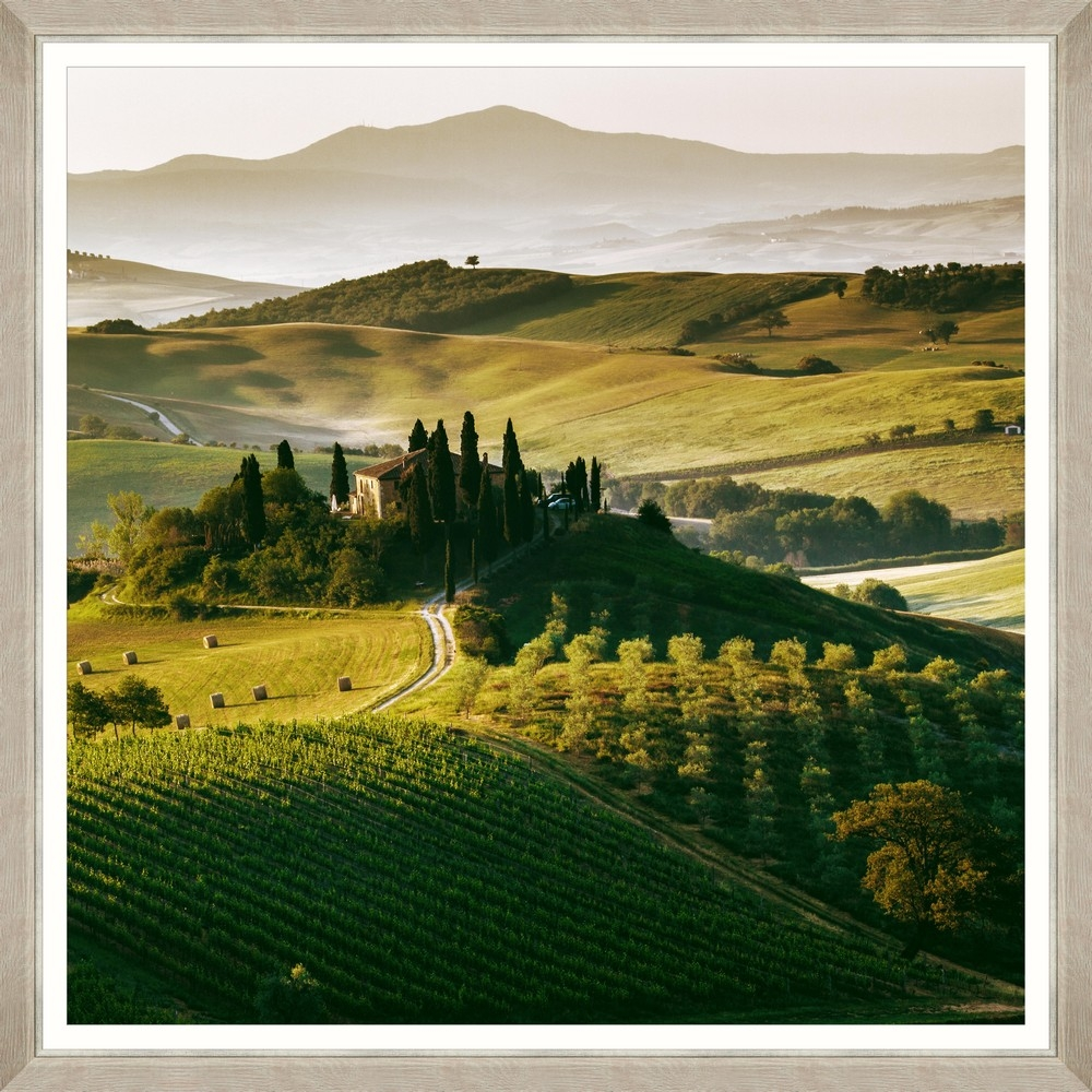 Tablou Framed Art Tuscany Sunset