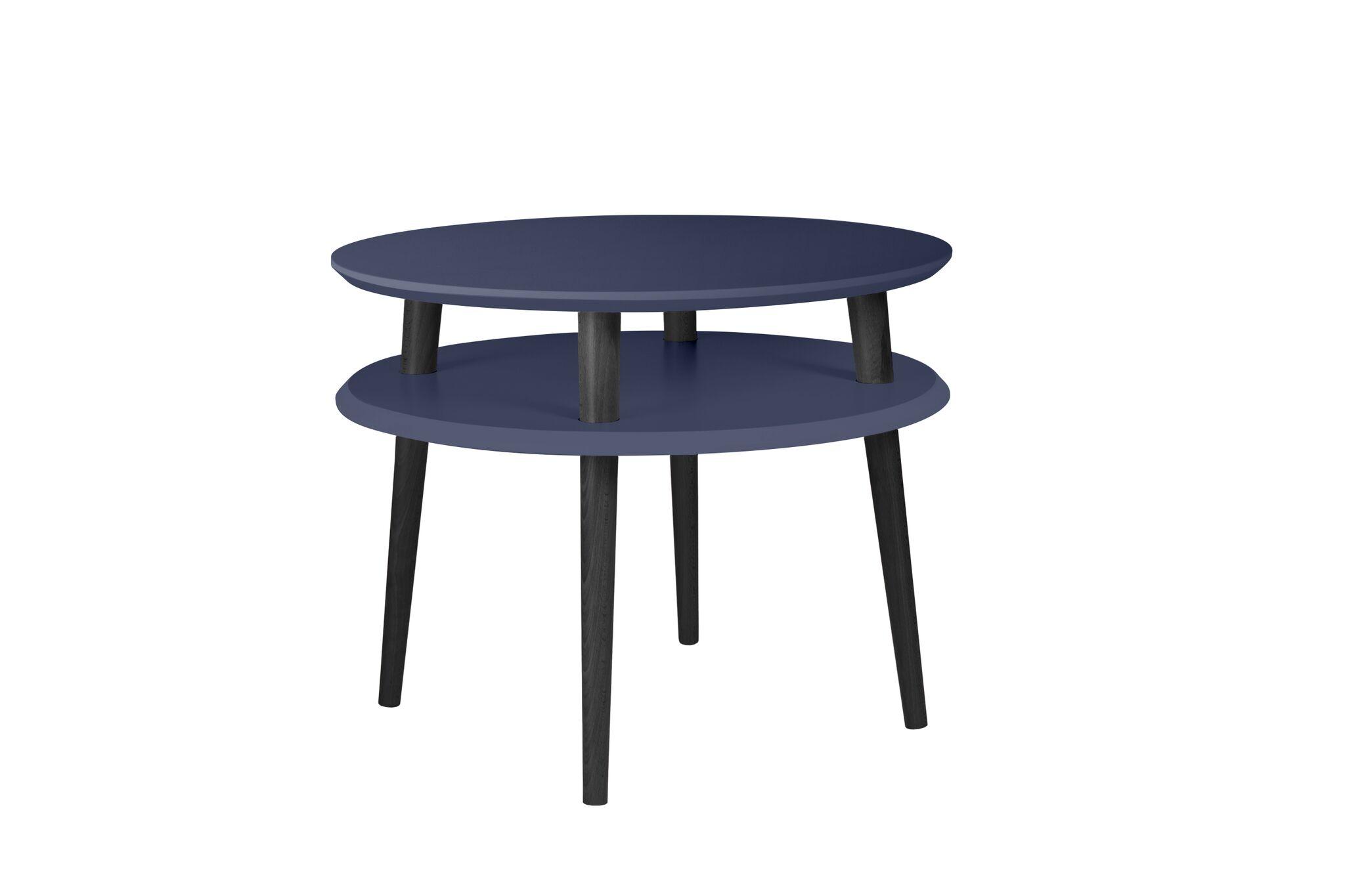 Masa de cafea Ufo Medium Graphite / Black O57xh45 cm