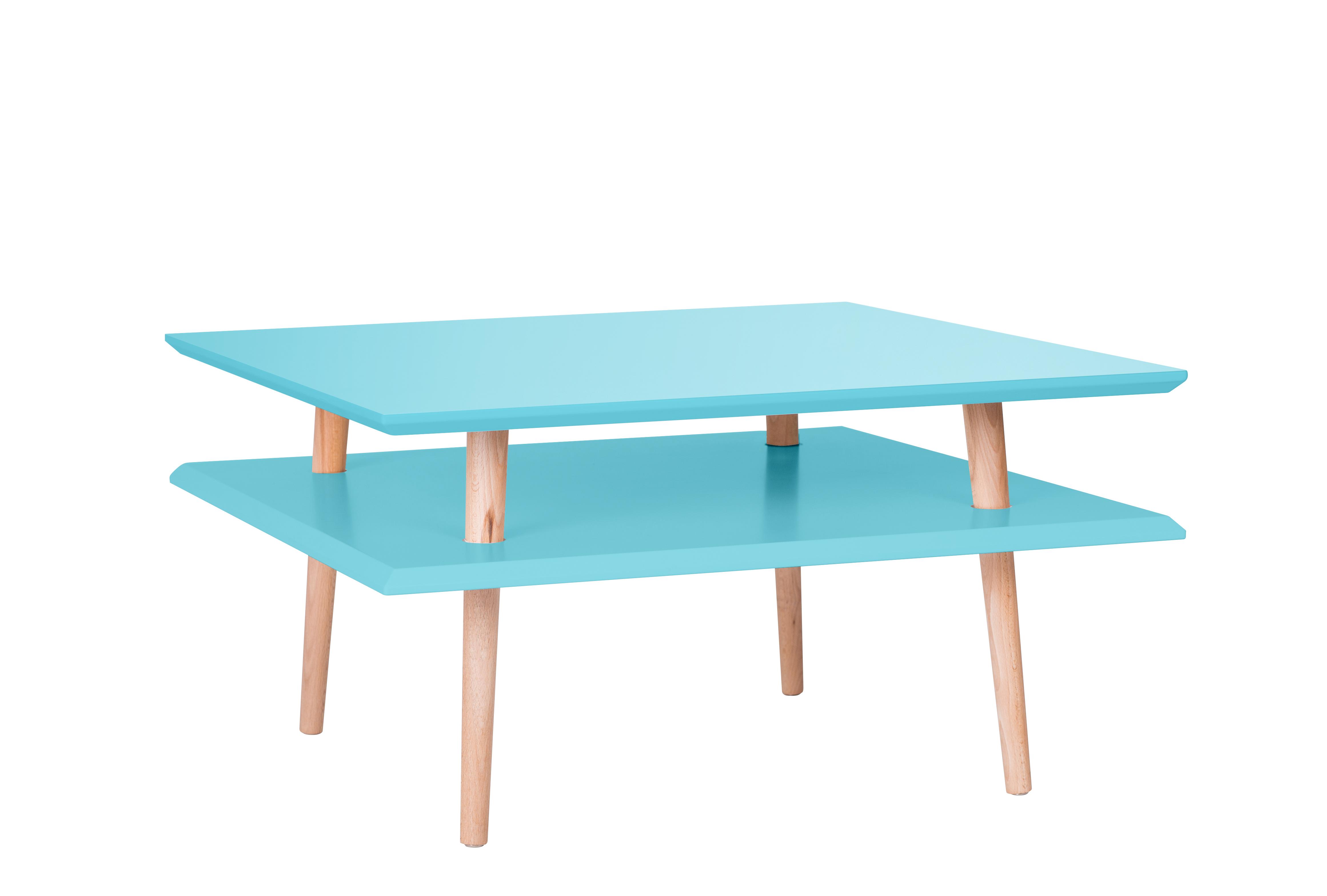 Masa De Cafea Ufo Square Low Dark Turquoise  L68xl68xh35 Cm