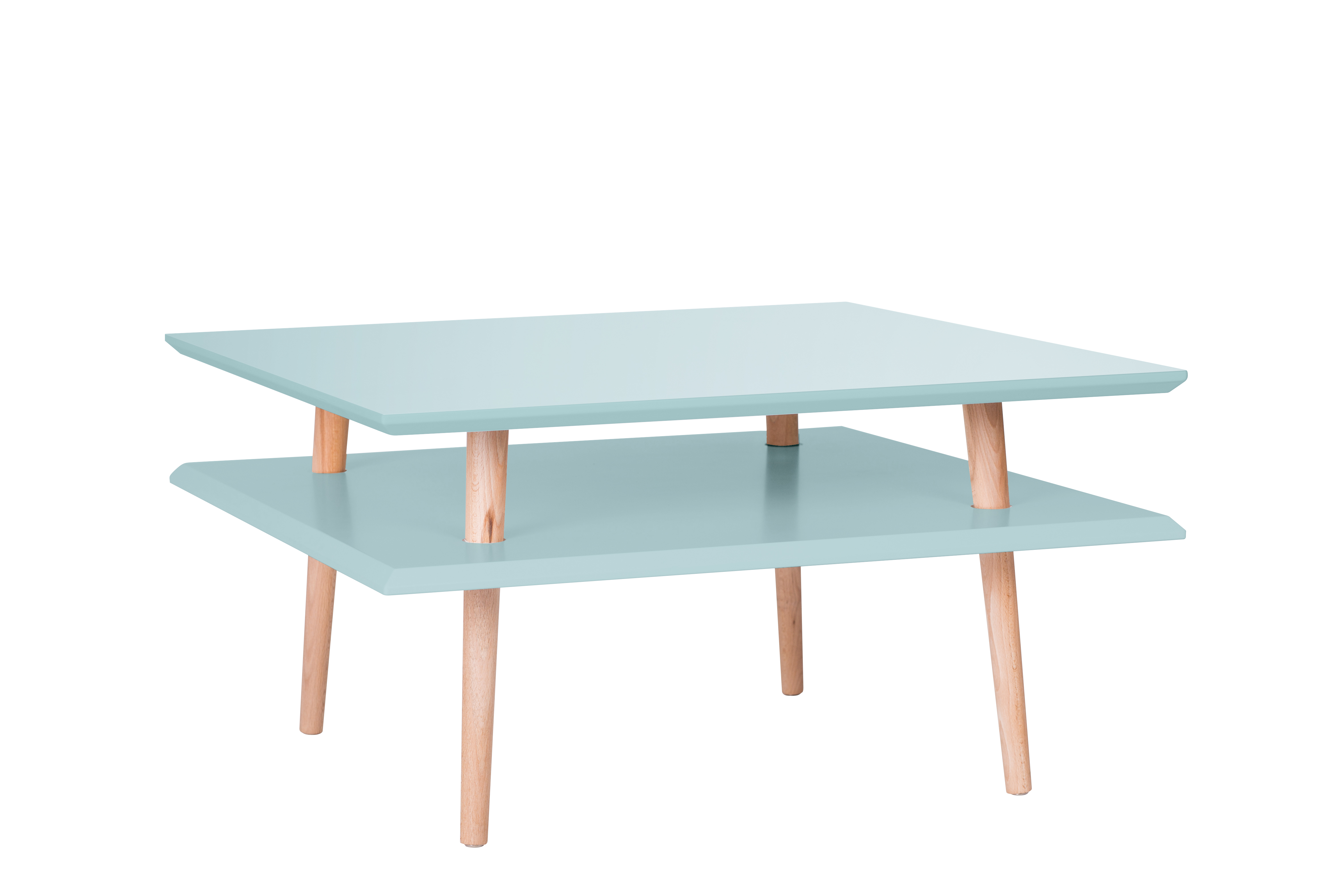 Masa De Cafea Ufo Square Low Light Turquoise  L68xl68xh35 Cm