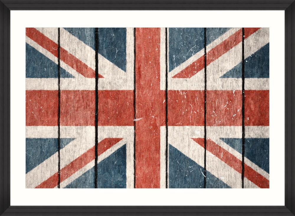 Tablou Framed Art Union Jack