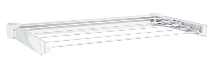 Uscator rufe extensibil pentru perete, cadru metalic, Telegant 30 Protect Alb, 3 m