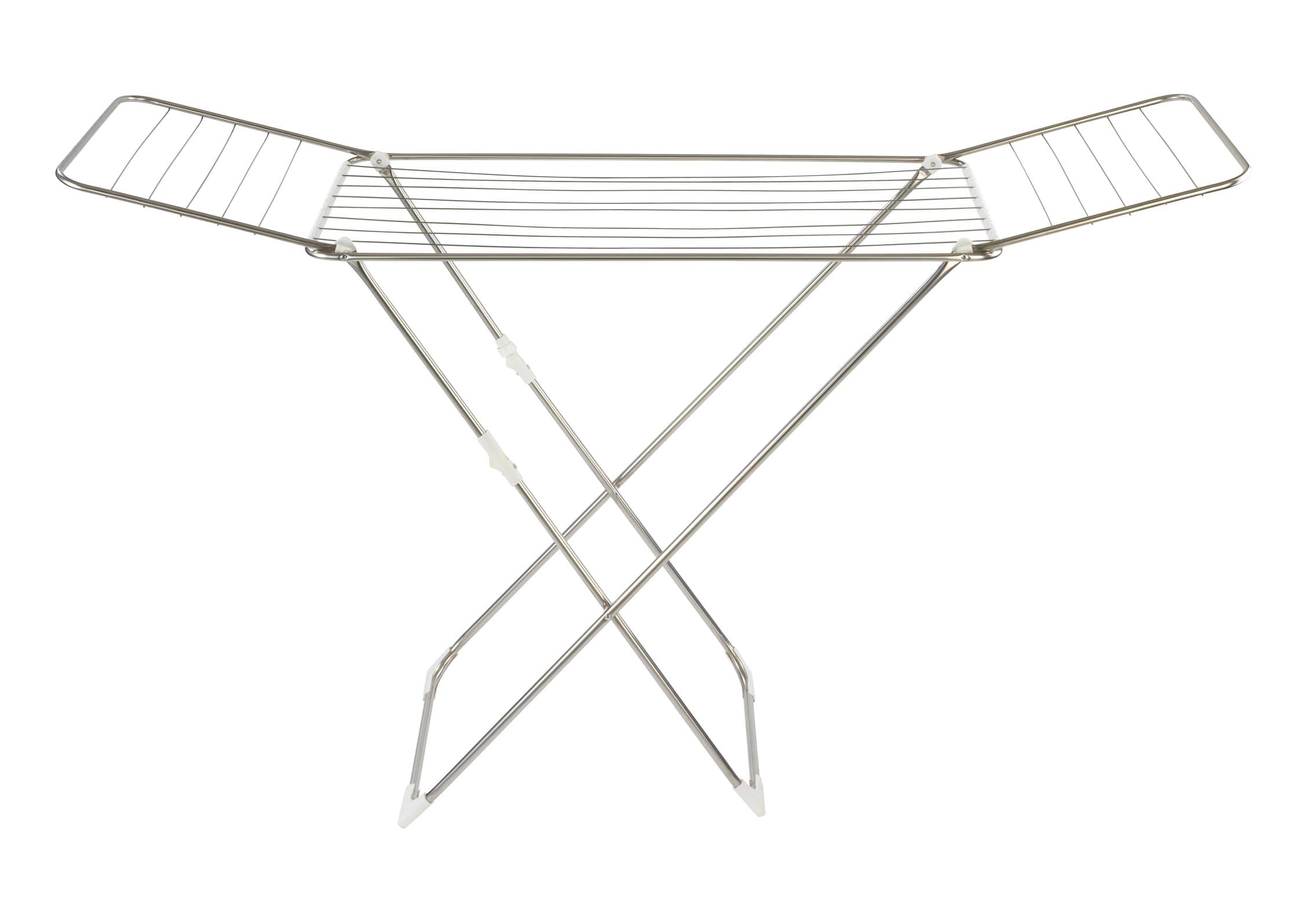 Uscator rufe pliabil, cadru metalic, Puro Crom, 18 m imagine