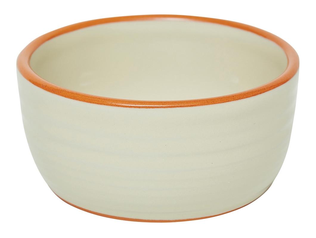Vas ceramic rotund Sand, 11 cm, Jamie Oliver imagine