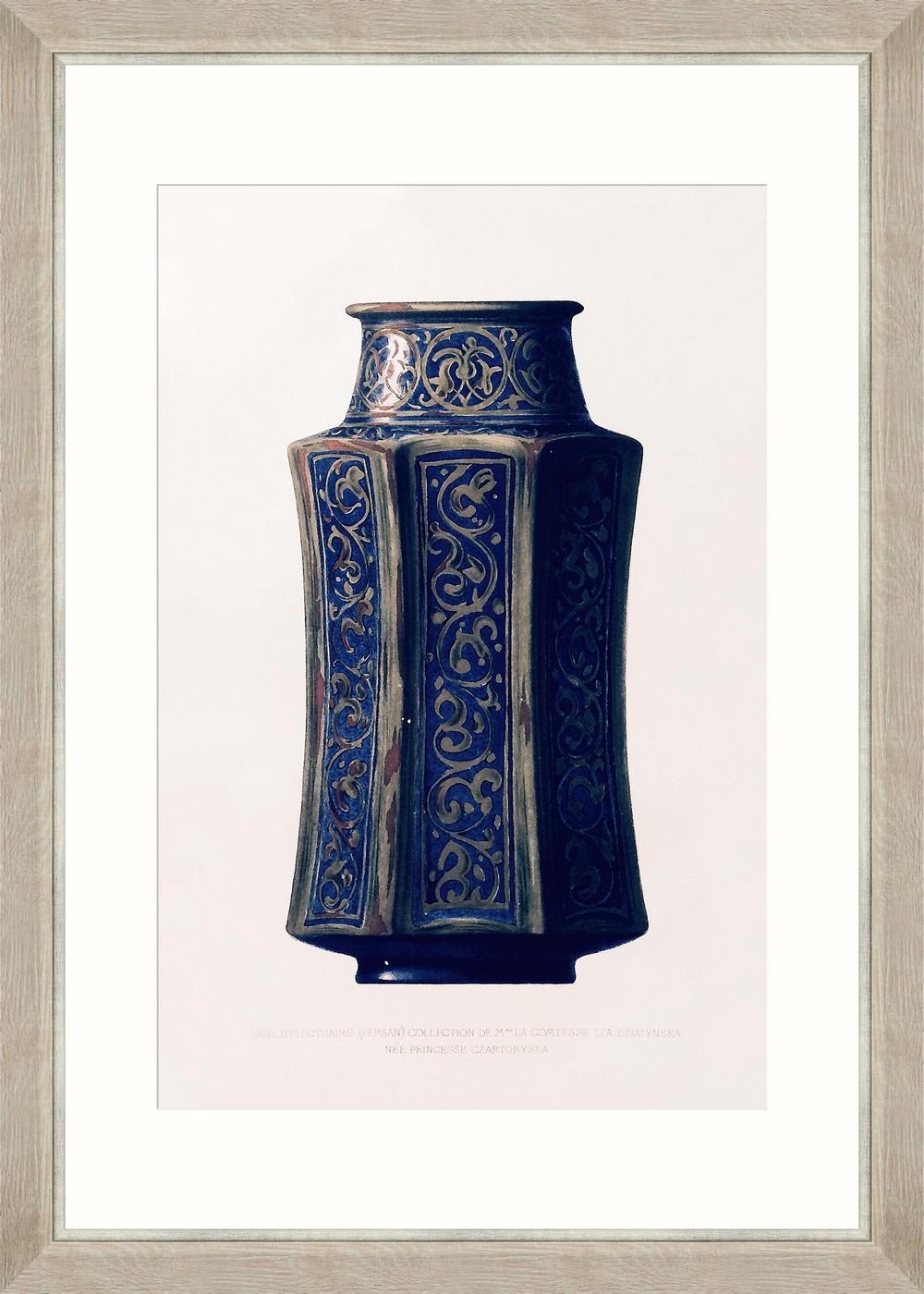 Tablou Framed Art Vase D`electuaire