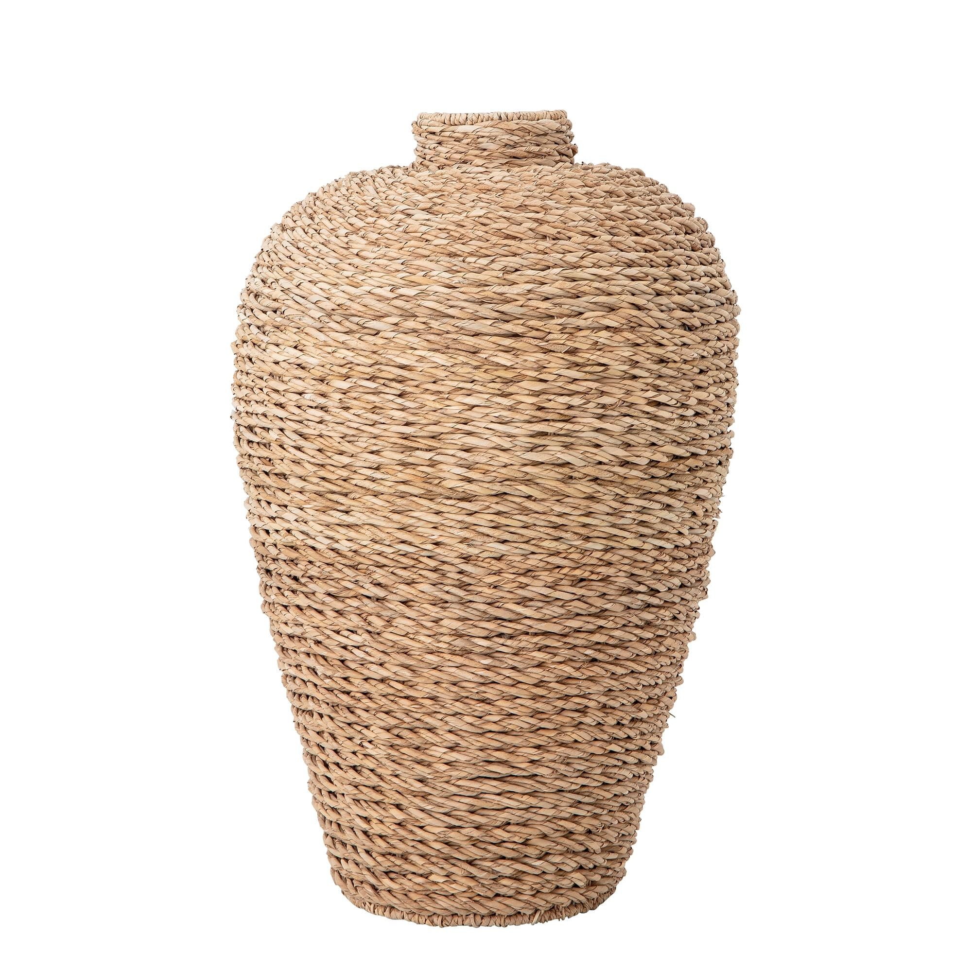 Vaza decorativa din papura, Tora Natur, Ø51xH81 cm poza