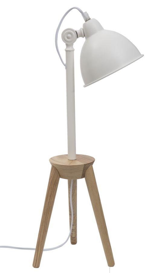 Lampa de birou Soffi Desk Alb / Natural
