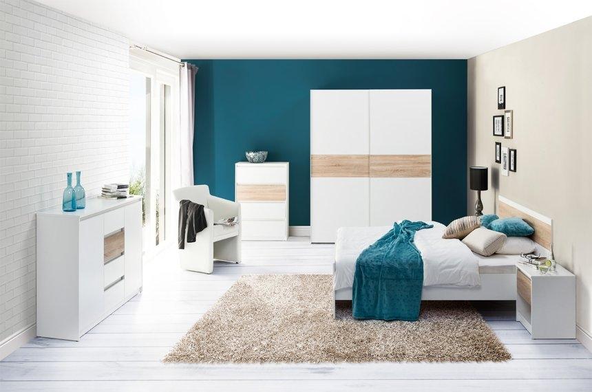 Set Mobila Dormitor Venetia Dormitoare Ilustratie