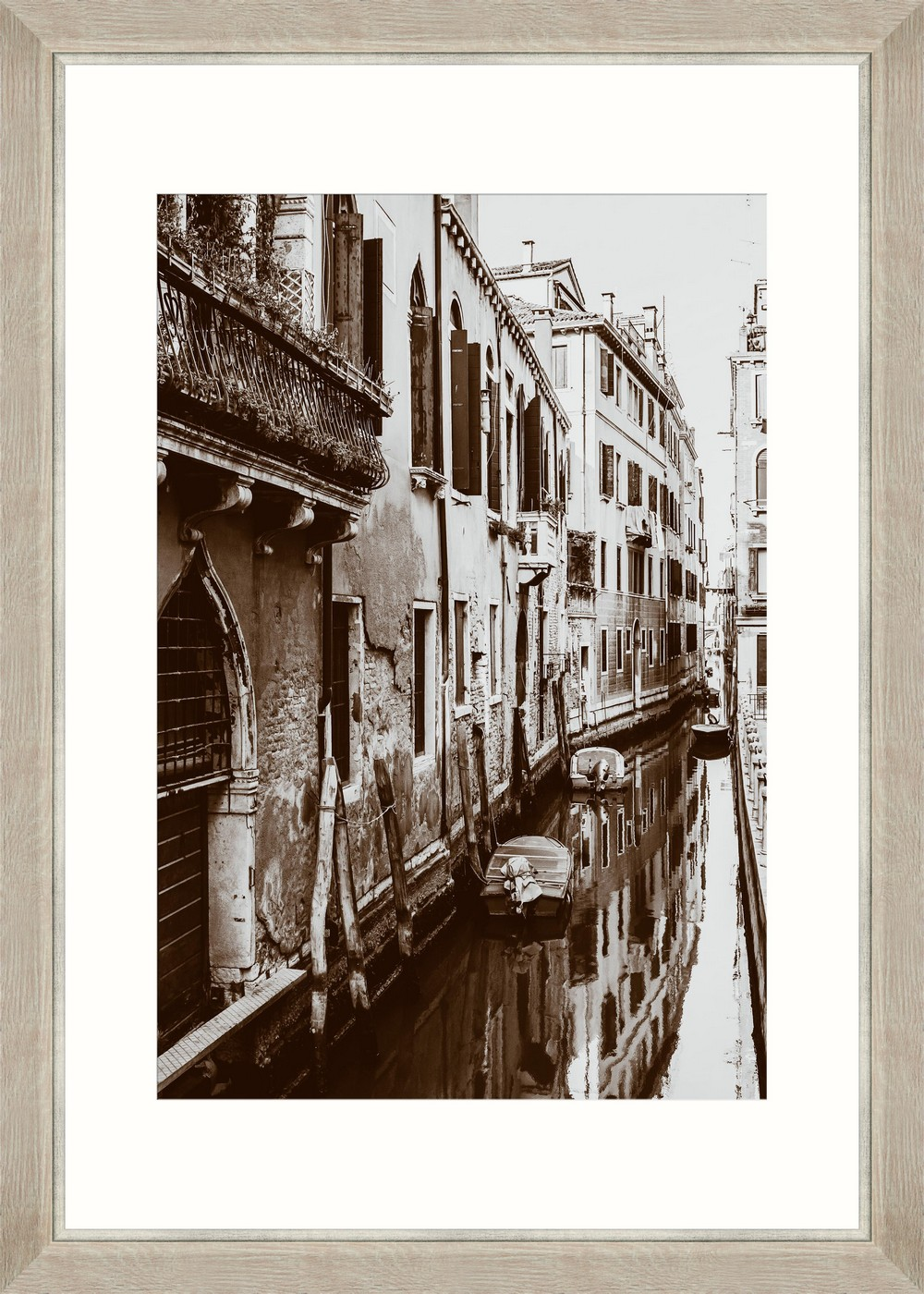 Tablou Framed Art Venician Canal I imagine