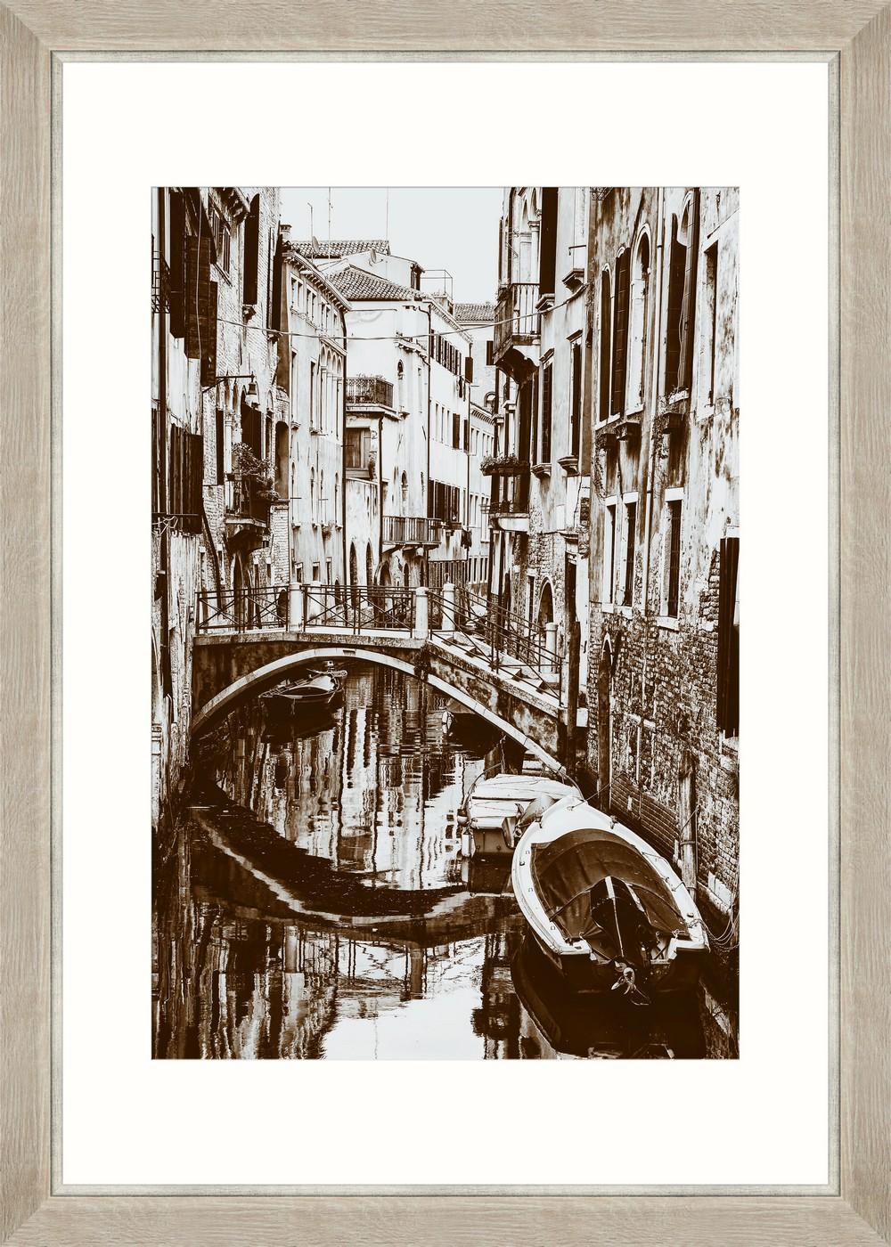 Tablou Framed Art Venician Canal II