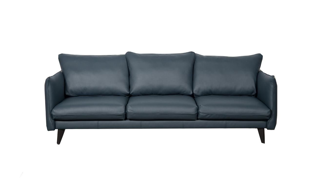 Canapea fixa 3 locuri Verona Bleumarine