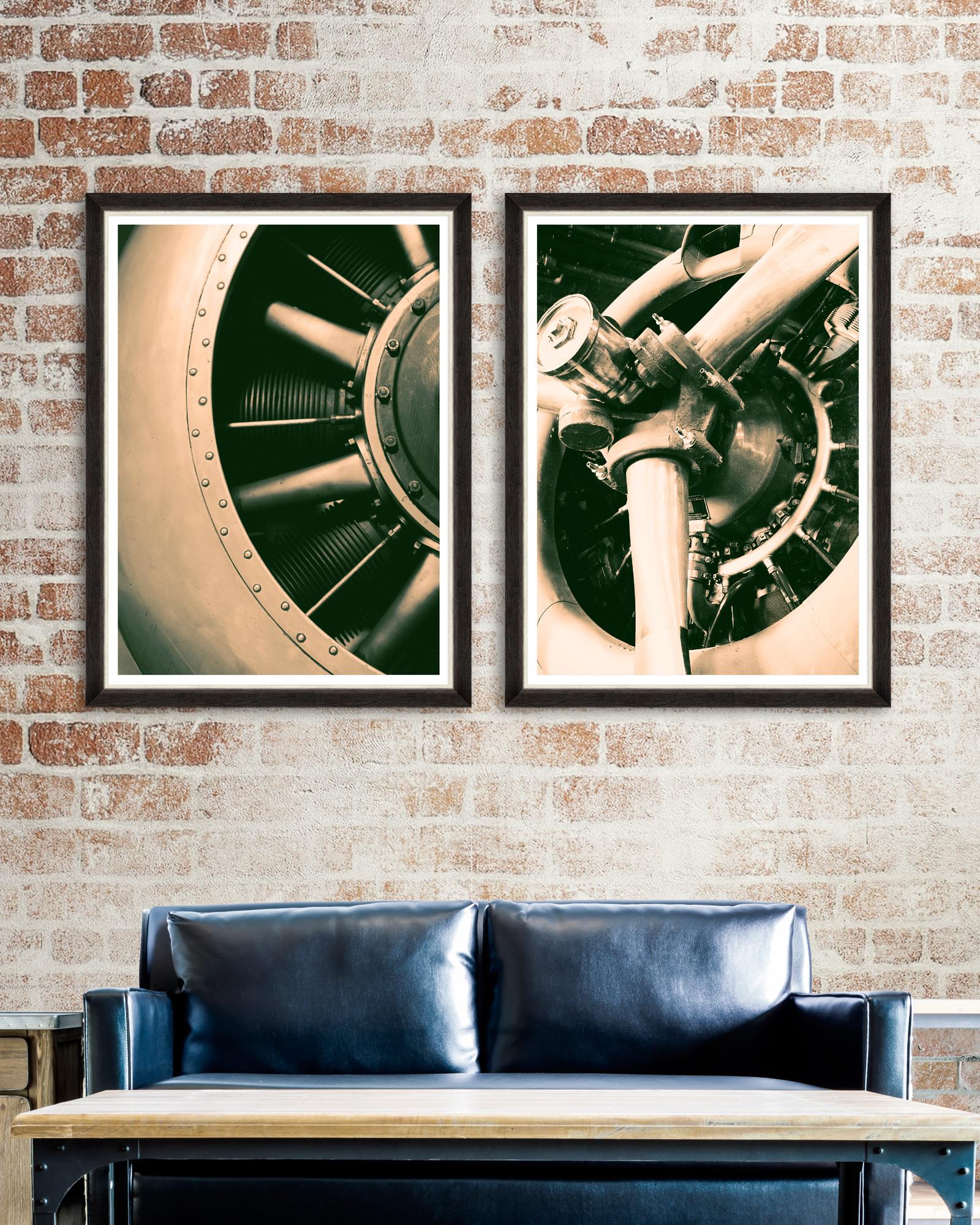Tablou 2 piese Framed Art Vintage Propellerheads