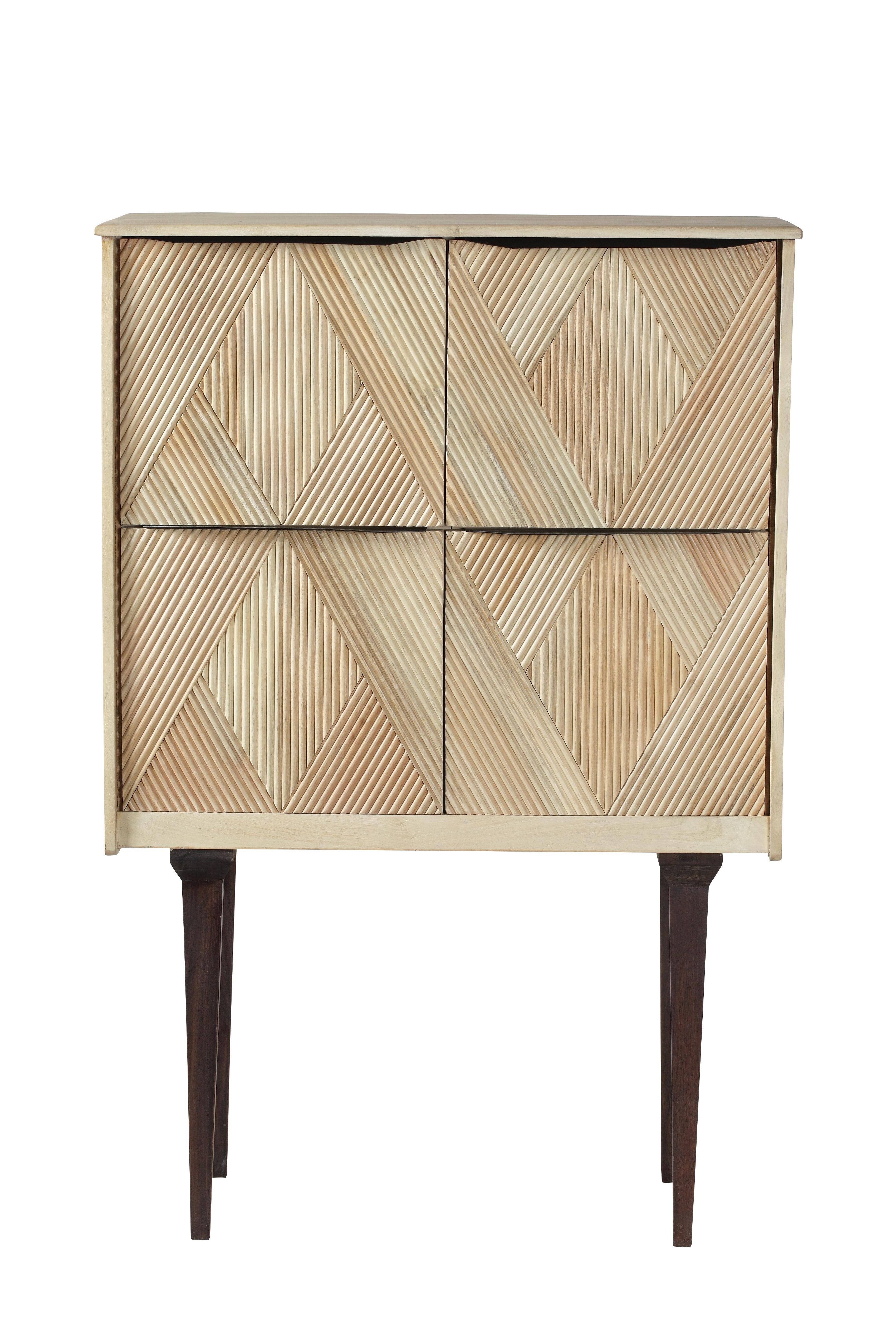 poze cu Cabinet Gatsby Raw, L85xl40,5xh127 cm