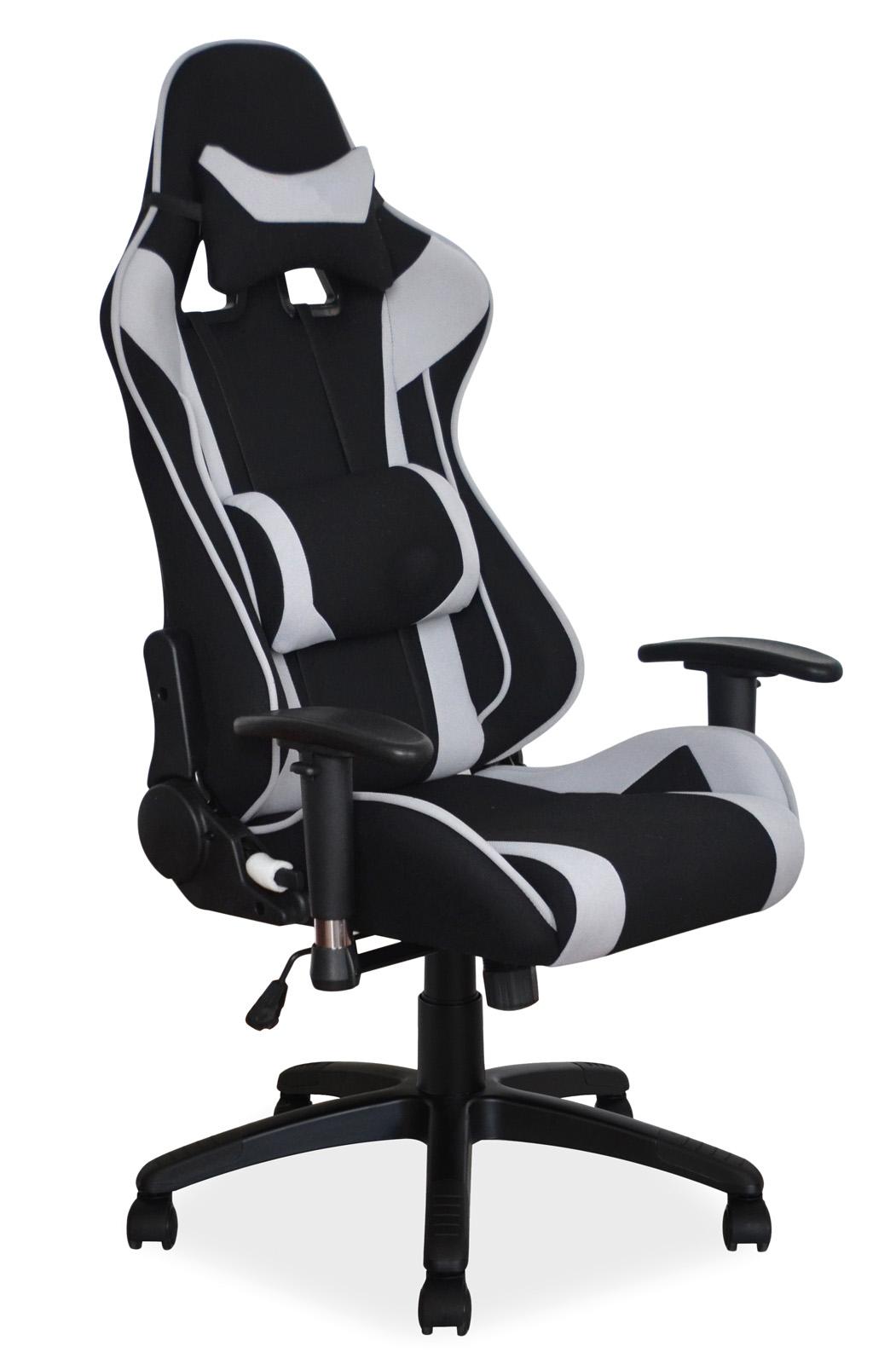 Scaun de birou ergonomic Viper Black / Grey