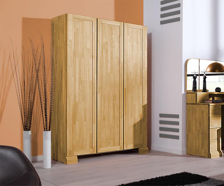 Dulap din lemn masiv de stejar Seti 450 3D