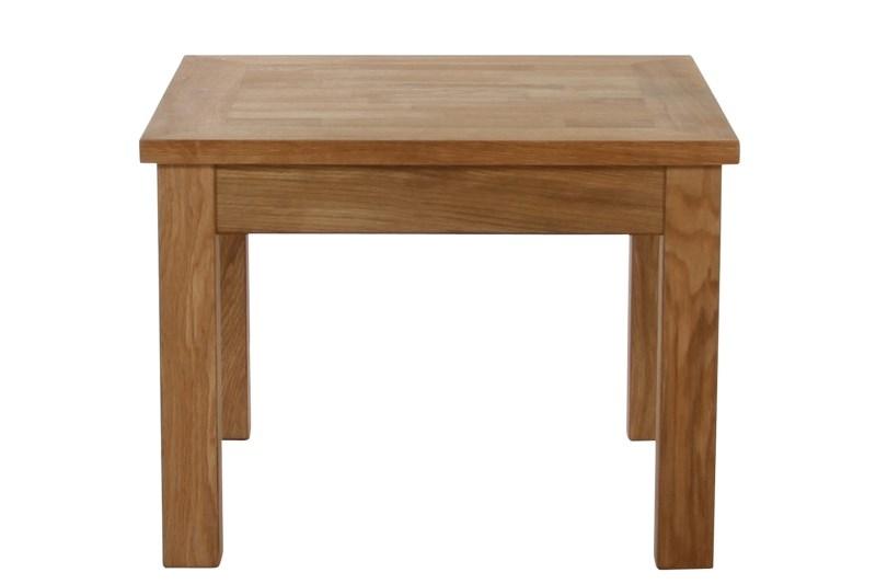 Masuta din lemn si furnir Waimea, L60xl60xh45 cm