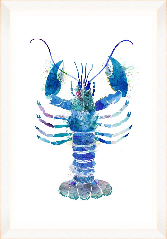 Tablou Framed Art Watercolor Lobster I