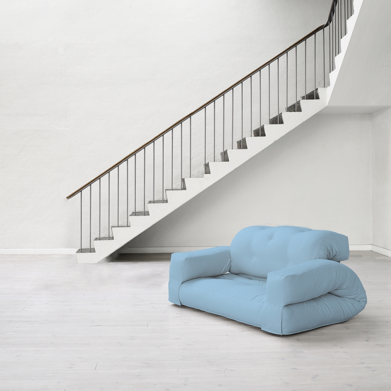Canapea extensibila Hippo Blue