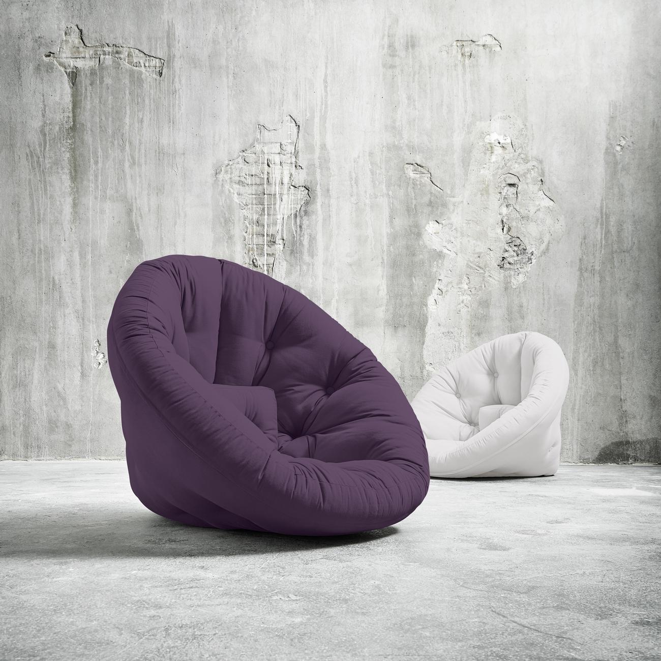 Fotoliu extensibil Nido-Violet