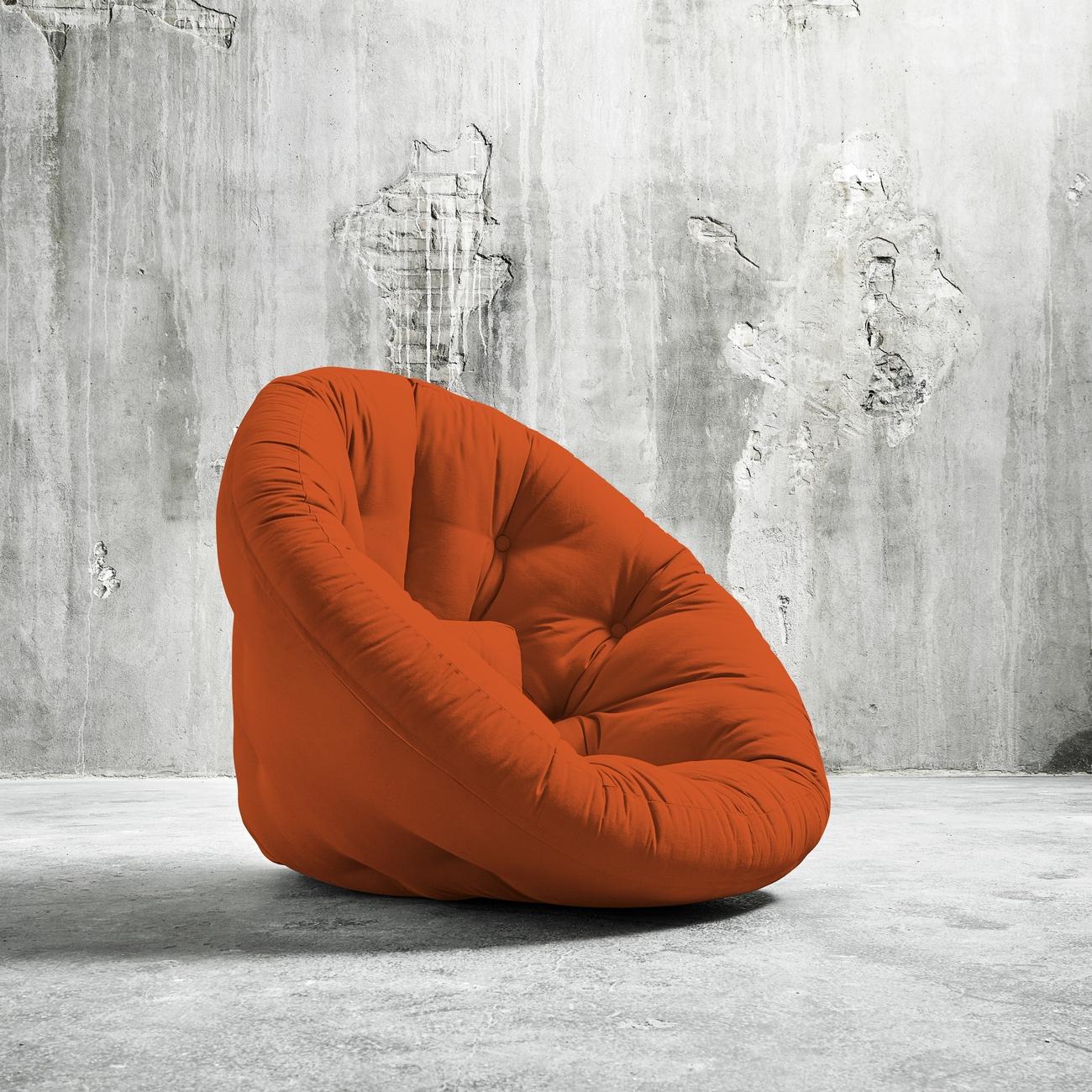 Fotoliu extensibil Nido-Orange