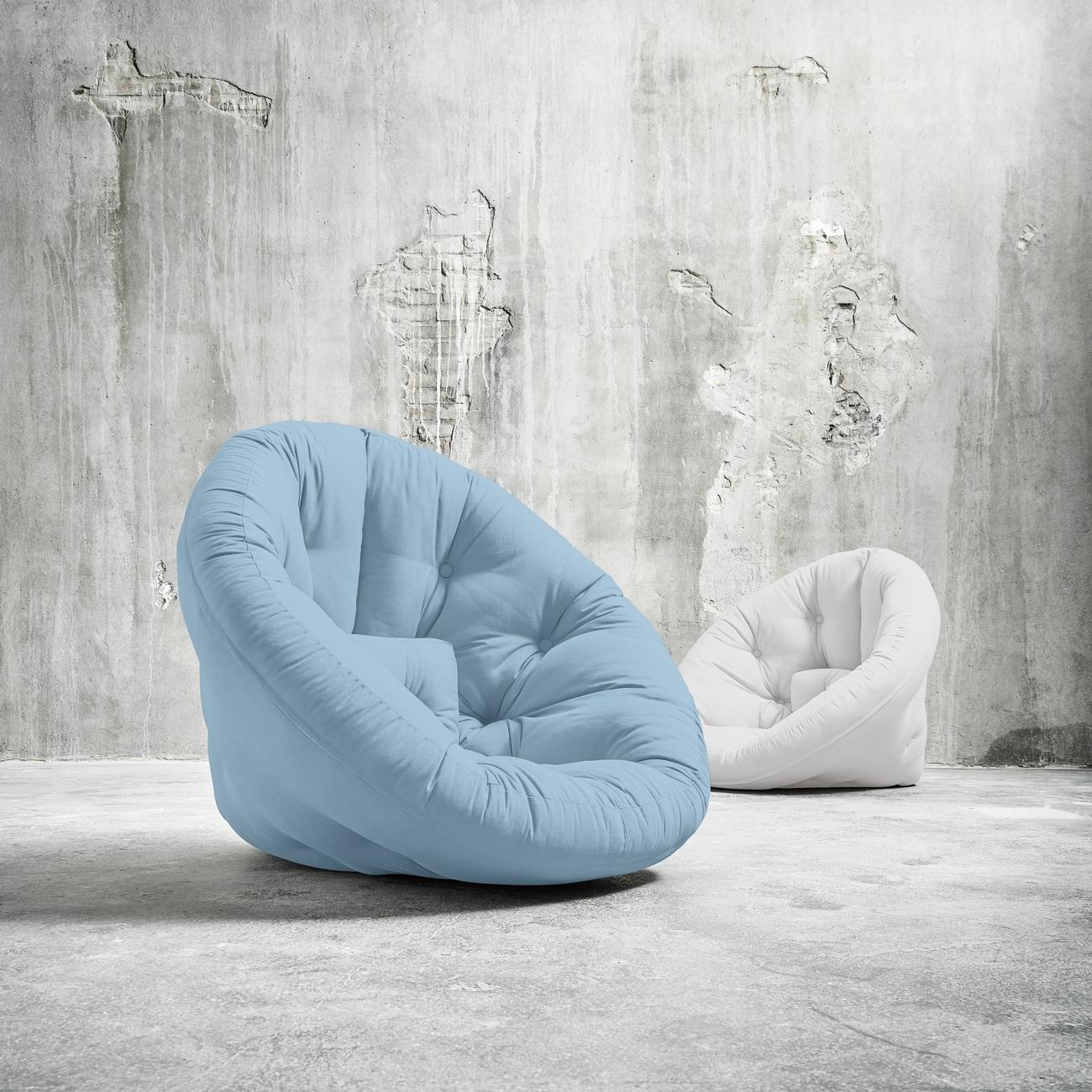 Fotoliu extensibil Nido-Bleu