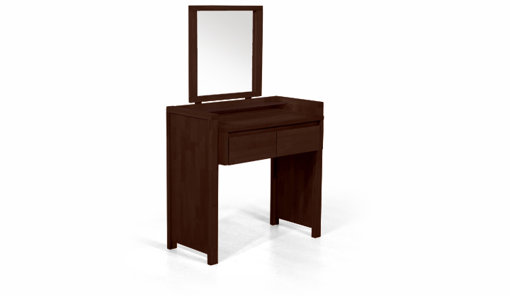 Masa de toaleta din lemn masiv de fag Vinci wenge